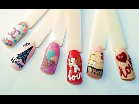 Дизайн ногтей✦Объемные рисунки✦Ksana Groza. Nail Art Blog
