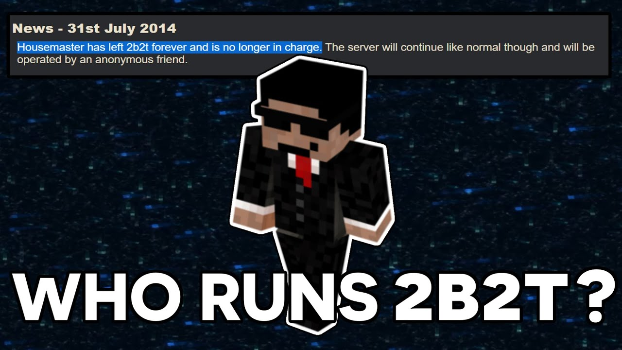 Unsolved Mystery of Hausemaster - Who is REALLY Behind 8b8t?