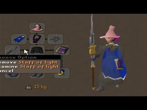 99 Magic Staff of Light Pking