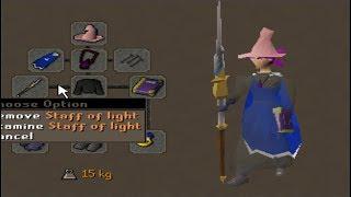 99 Magic Staff of Light Pking