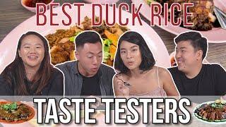BEST DUCK RICE IN SG! | Taste Testers | EP 90