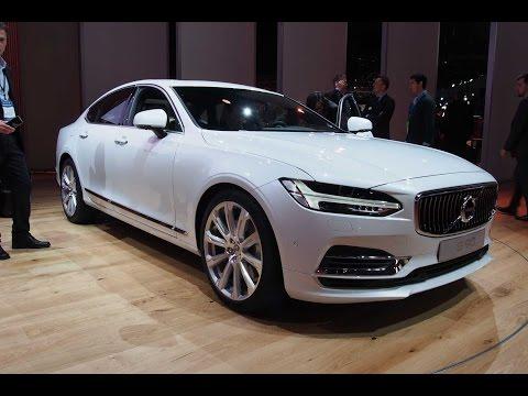 2017 Volvo S90 - 2016 Detroit Auto Show