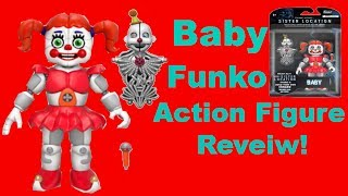 Circus Baby Fnaf Sl Funko Action Figure Review!