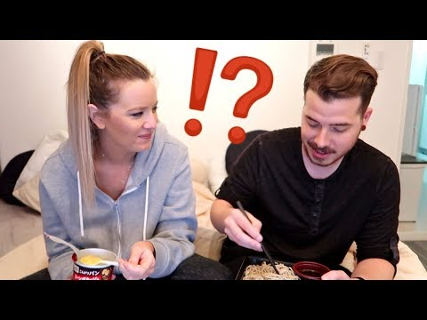 AMERICANS TRY JAPANESE CONVENIENCE STORE FOOD!