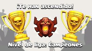 CAMPEON 3199 + 1 | Clash of Clans en ESPAÑOL → [ Newton Games ]