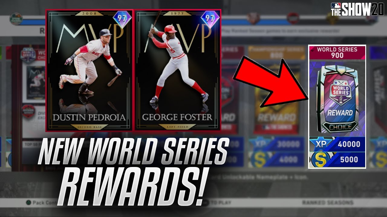 *NEW* 97 George Foster + 97 Dustin Pedroia In New Ranked Season! MLB The Show 20 Diamond Dynasty