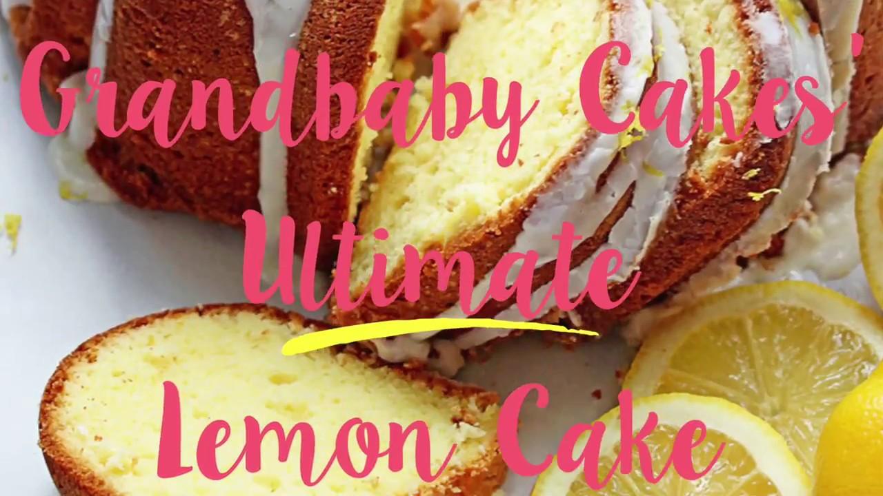 The Ultimate Lemon Cake Recipe The Very Best Lemon Pound Cake