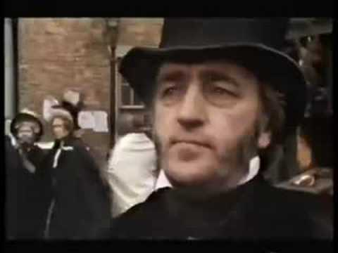 Keith Allen and Chris Sullivan in BBC's Martin Chuzzlewit.