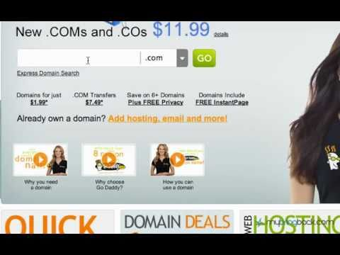 Creating a Website - Basics 2: Domain Names (URL) and How to Register