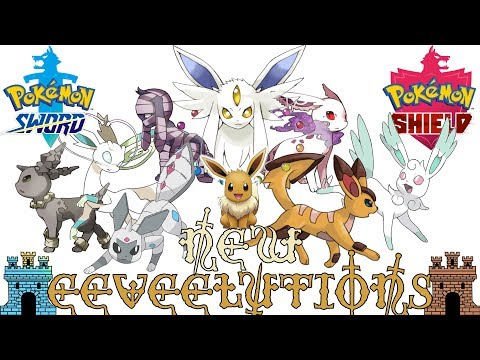 New Eeveelutions for Pokémon Sword & Shield
