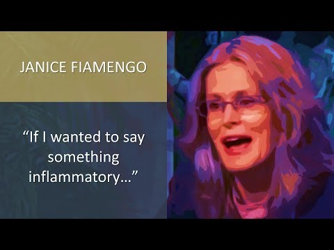 "Janice Fiamengo: ""If I wanted to say something inflammatory..."""