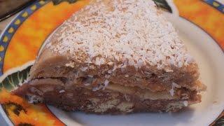 Торт  без выпечки за 15 минут рецепт