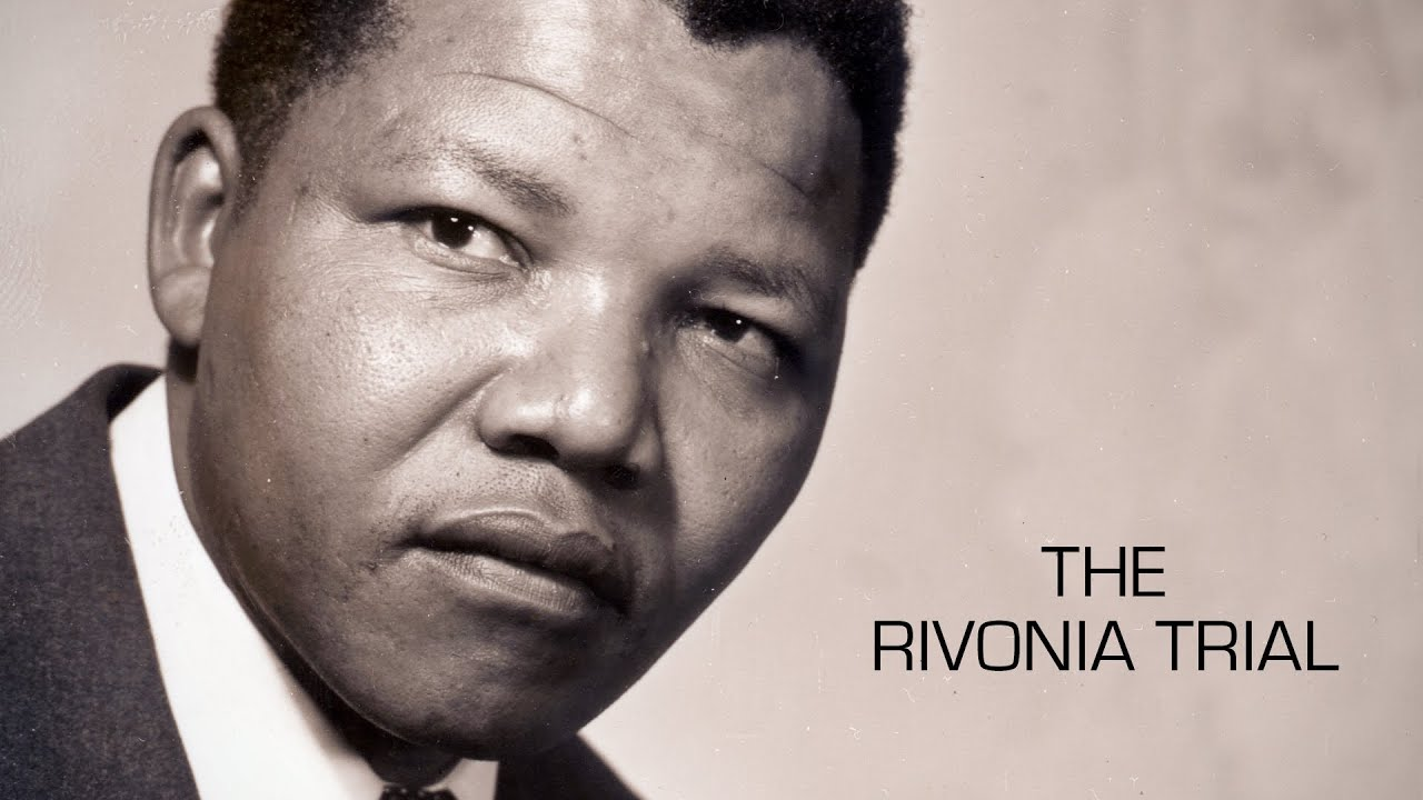 Nelson Mandela The Rivonia Trial Youtube