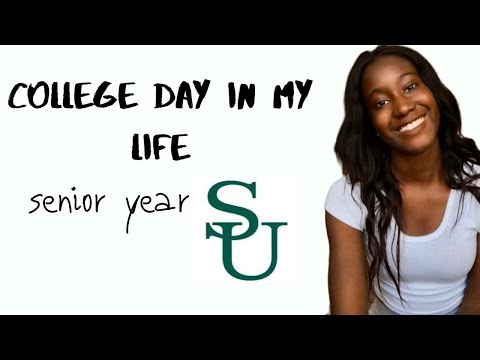 STEVENSON UNIVERSITY | college day in my life ?