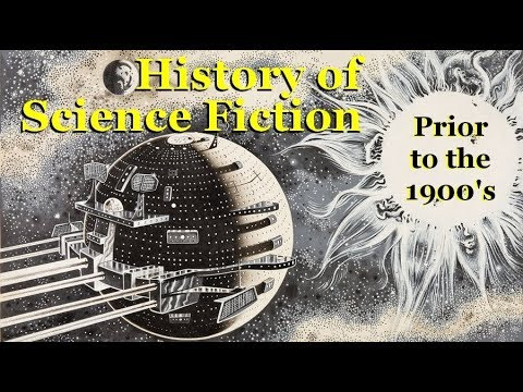 History of Science Fiction from 1600 to 1900 AD