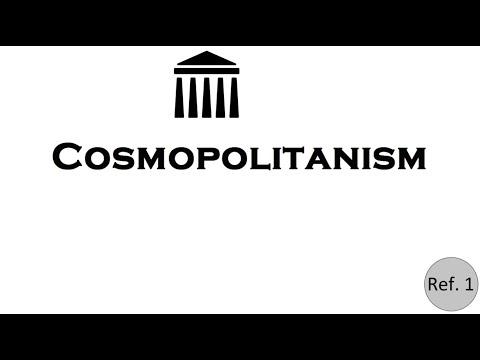 Cosmopolitanism in 3 minuttes
