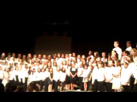 District wide elementary school chorus