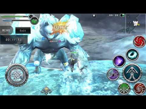 Avabel Online - Full HD 60FPS! Gori-Ice Summoned Raid!