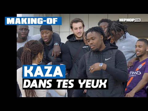 Youtube: Kaza – Dans tes yeux (Making Of Officiel – Exclusivité HipHop DX)