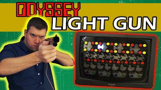 Magnavox Odyssey Light Rifle Gun (History of Video Games pt 2B) | The Irate Gamer