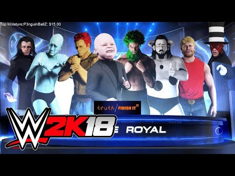 Cr1TiKaL (penguinz0) Stream Jan 12th, 2018 [WWE 2K18]