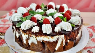 ФАНТАСТИЧЕСКИЙ   желейно-блинный торт!