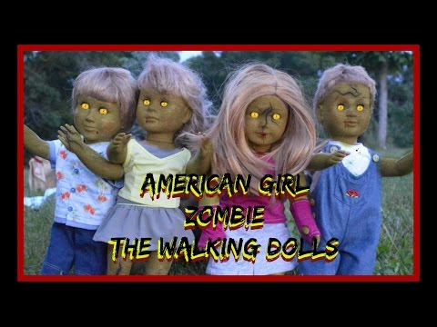The Walking Dolls American Girl Camping Roadtrip Adventure With Zombies Ep2 Dead End