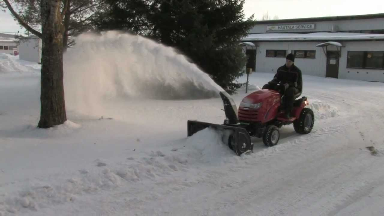 Simplicity Conquest Snow Blower Youtube