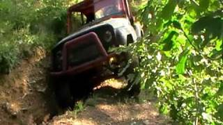 Hill climb  4x4 off-road by uaz V6 2.3 Ford Granada Engine