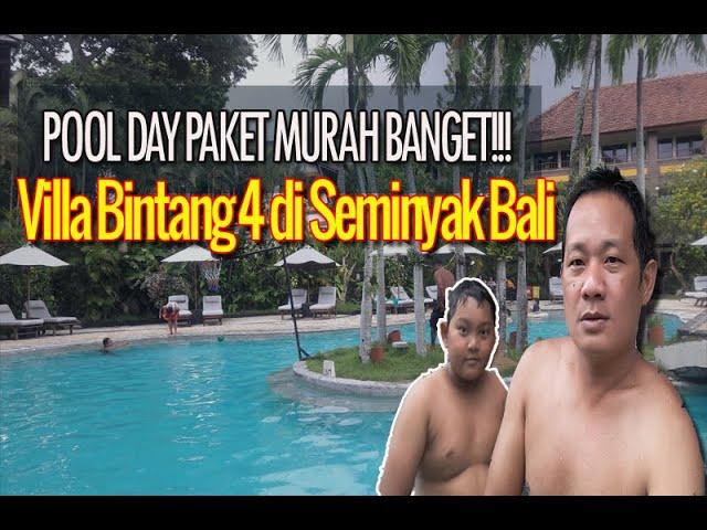 Pool Day Paket Villa Bintang 4 di Seminyak, MURAH BANGET! - Hotel Villa Lumbung Seminyak Bali