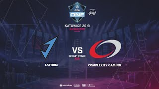 J.Storm vs coL, ESL One Katowice, NA Qualifier, bo5, game 3 [Adekvat]