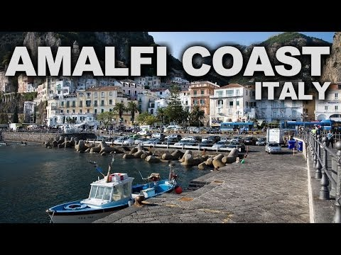Amalfi Coast in Italy: Iconic Medieval Cliffside Fishing Villages