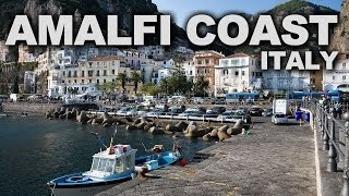 Amalfi Coast in Italy Iconic Medieval Cliffside Fishing Villages