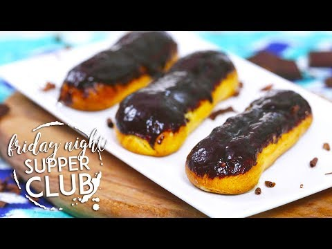 Chocolate Eclairs | Friday Night Supper Club