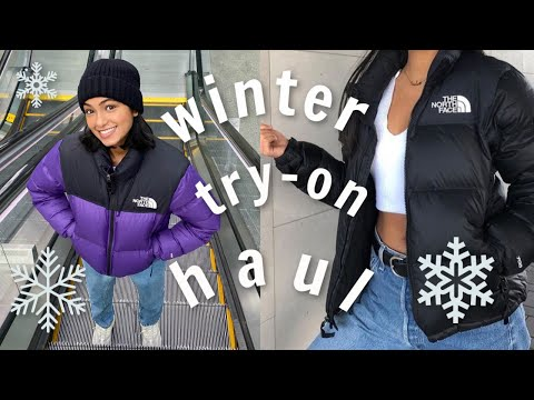 Winter Try On Haul 2020   North Face, Yeezy + More!