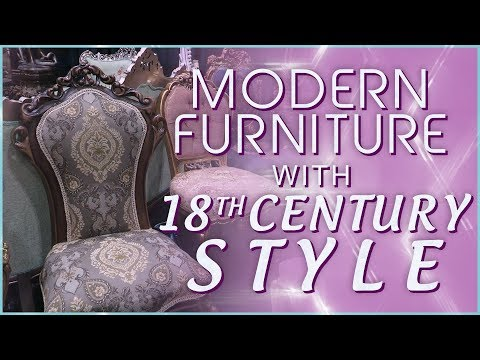 18th Century Inspired Furniture for Modern Homes