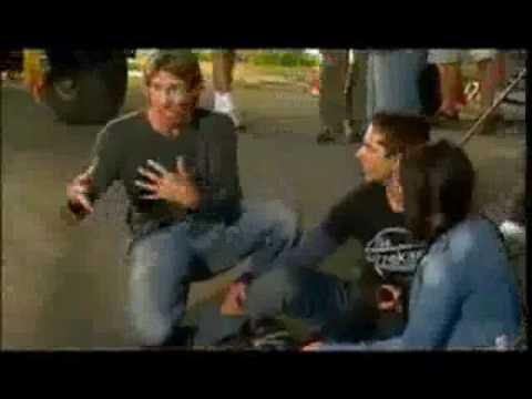 Behind the scenes of TransFormers with Micheal Bay, Shia LaBeouf & Megan Fox