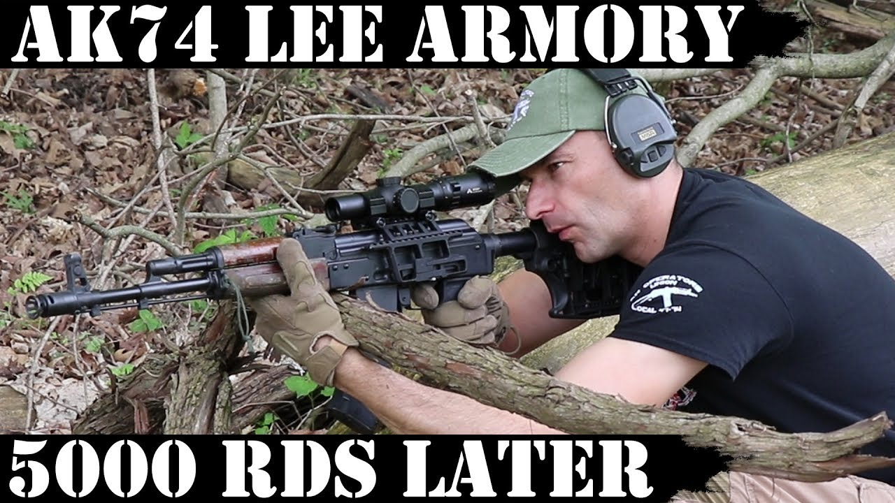 Lee Armory AK74 5000rds Later - The End!