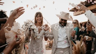 Amanda & Dimitri Wedding Film by Vasilis Barahanos