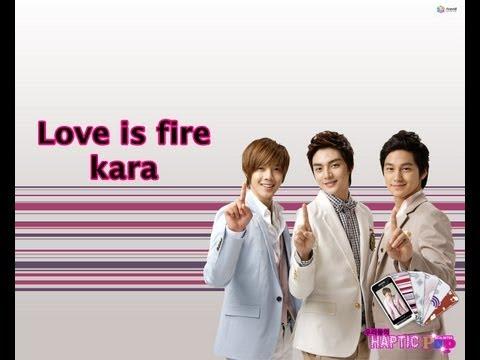 Love Is Fire - Kara (Traducción En Español)