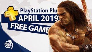 PlayStation Plus (PS+) April 2019