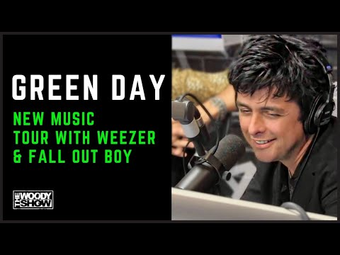 The Woody Show - Green Day on Tour with Weezer & Fall Out Boy + iHeartRadio Festival 2019