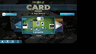 Hoyle Card Games 2008 - Canasta