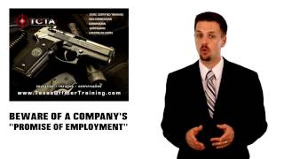 Security Guard Training Austin - Employment Warning