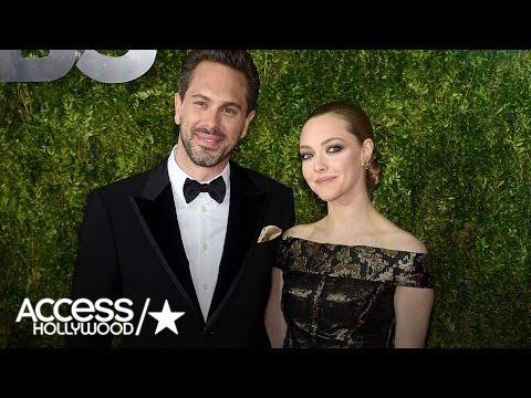 Amanda Seyfried's Fiancé Thomas Sadoski Gushes Over Her Acting: 'I'm So Proud' | Access Hollywood