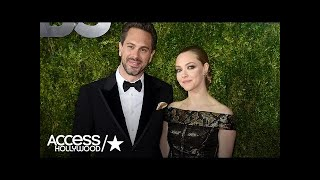 Amanda Seyfried's Fiancé Thomas Sadoski Gushes Over Her Acting: 'I'm So Proud' | Access Hollywood