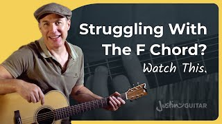Shifting The F Chord