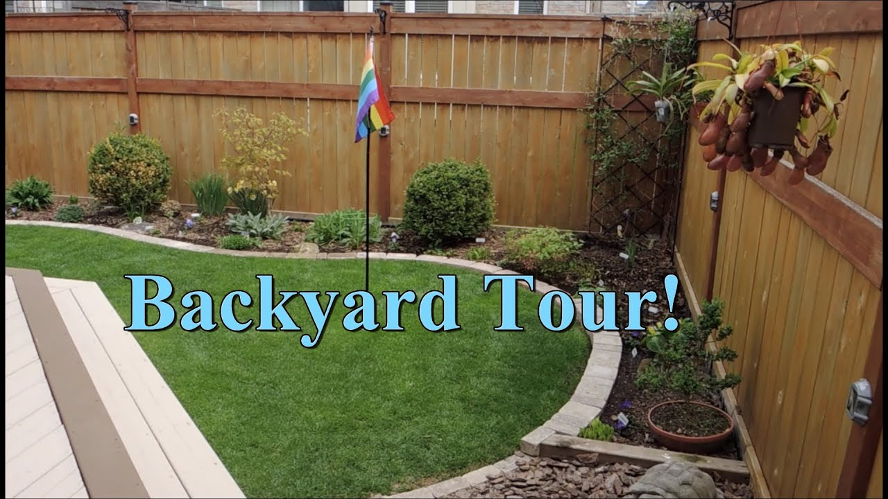 Attrayant Backyard Garden Tour   May 2015   YouTube