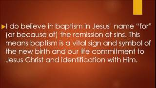 Acts 2:38: Baptism for salvation? No!