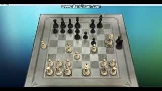 chess against computer. winning fast at beginner level